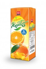 200ml Orange juice tetra pak